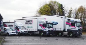 Courier Connections have depots in Bellshill, Broxburn and Perth